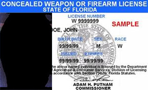 Reduced License Fees Concealed Weapon com Northescambia