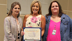 Molino Park Elementary Cafeteria Receives National Recognition