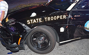 Drunk Driver Hits Deputy Vehicle, Two Troopers And Pedestrian