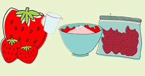 UF/IFAS: How To Freeze Strawberries