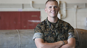 Local Marine Receives Award In Japan