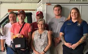 Flomaton Adds New Lifesaving Equipment To Every Fire Truck