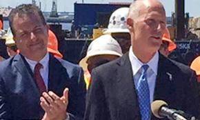 Gov. Scott Applauds New Pensacola Bay Bridge Construction