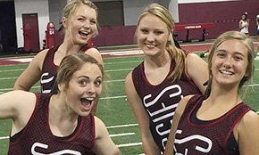 Tate Aggie Cheerleaders Earn Top Awards At Camp