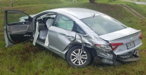One Injured In Cantonment Wreck