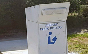 New Book Drop Available At The Molino Branch Library