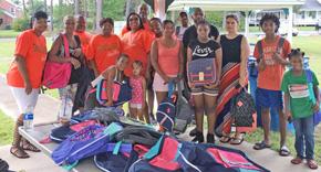 Deidra's Gift: Free School Supplies Distributed To Hundreds