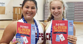 Northview JV Cheerleaders Earn All American Status
