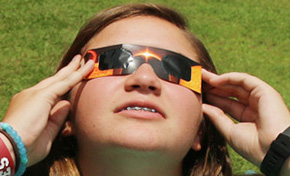 Students View Eclipse (With Photo Gallery)