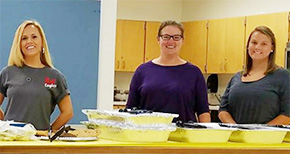 Molino Park PTA Holds 'Welcome Back' Lunch For School Staffers