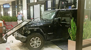 Cantonment Man Crashes Into Sacred Heart ER In Domestic Violence Incident