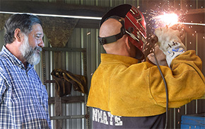 Road Prison Welding Program Gives Inmates Skills, Success After Incarceration
