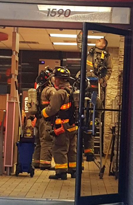 Flame Broiled? Firefighters Respond To Burger King