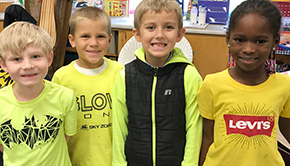 Jim Allen Elementary Goes Gold For Childhood Cancer Research