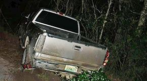 One Transported After West Kingsfield Crash