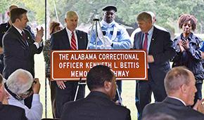Portion Of Alabama Hwy 21 Named For Slain Holman Correctional Officer