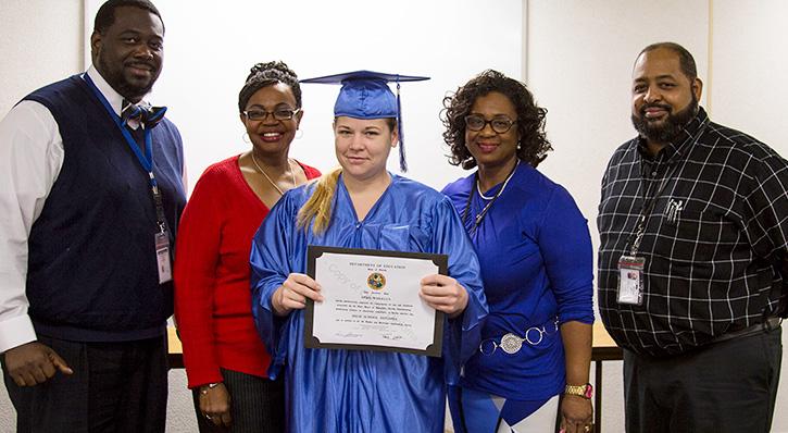 escambia county corrections recognizes ged graduates northescambia com