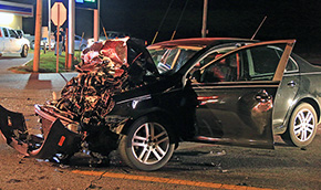 Multiple Injuries In Highway 97 Crash In Davisville