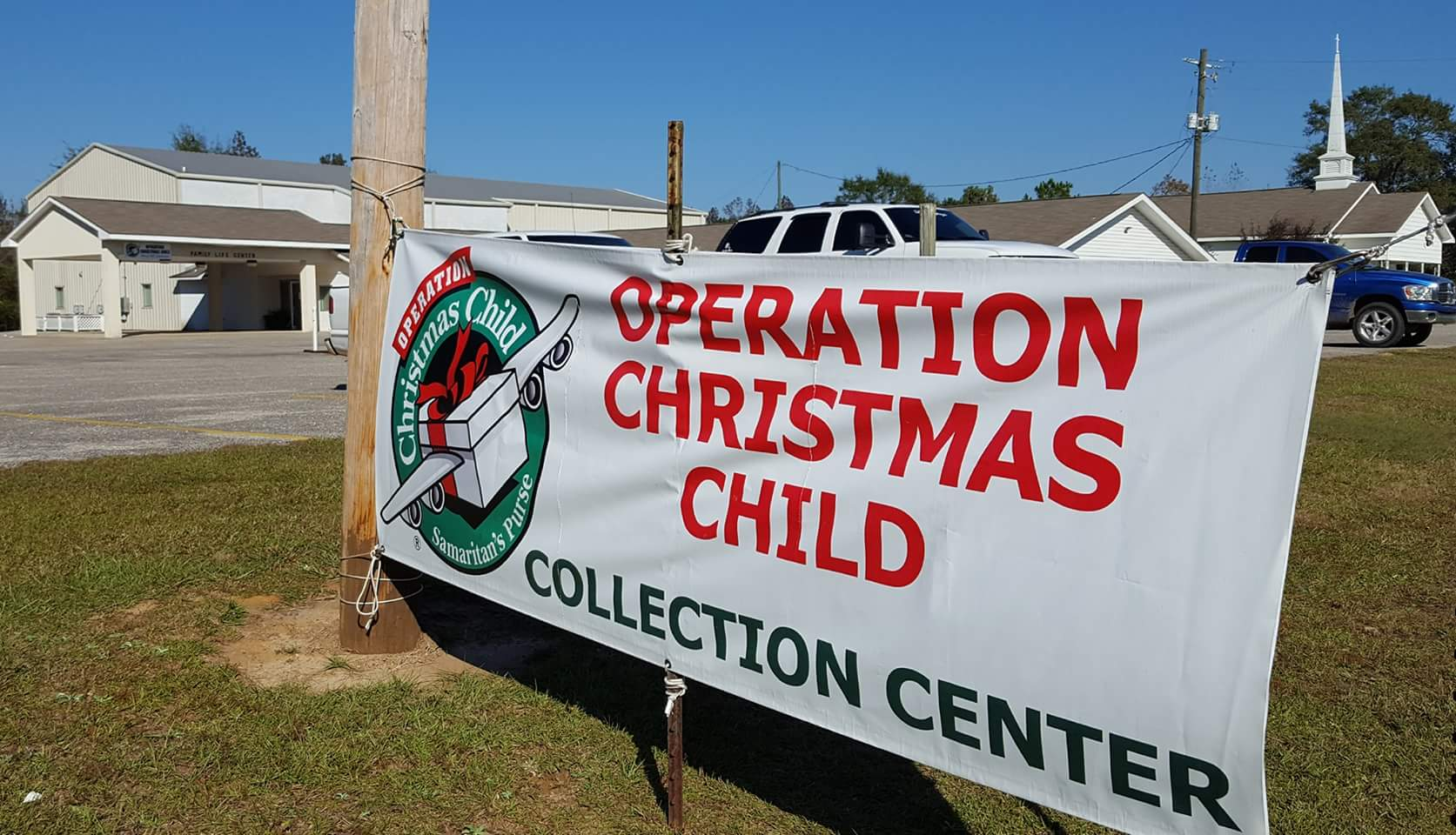 Greene church is now a collection site for Operation Christmas Child