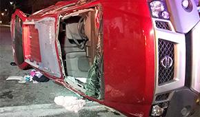 Multiple Injuries In Nine Mile Road Crash