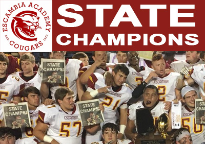 Escambia Academy Wins AISA State Championship