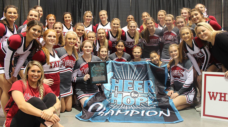 Tate High Cheerleaders Take Top Honors At Cheer For Hope