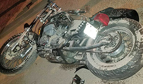 Two Critical After Cantonment Motorcycle, Pickup Crash