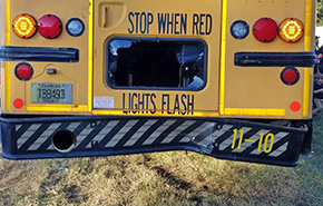 School Bus Driver Rear-ends Another School Bus
