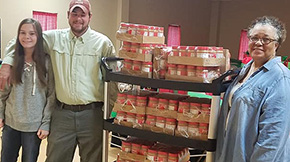 Over 5,500 Jars Of Peanut Butter Donated To Local Food Pantries