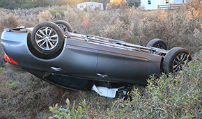 Two Injured In Century Rollover Crash