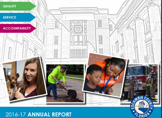 New Escambia County Annual Report Available Online Northescambia Com