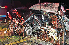 Wrong-Way Driver: Multiple Injuries In Crash With Multiple Vehicles In Molino