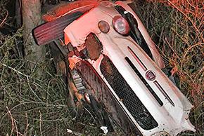 Driver Crashes On Highway 97 Sunday Night