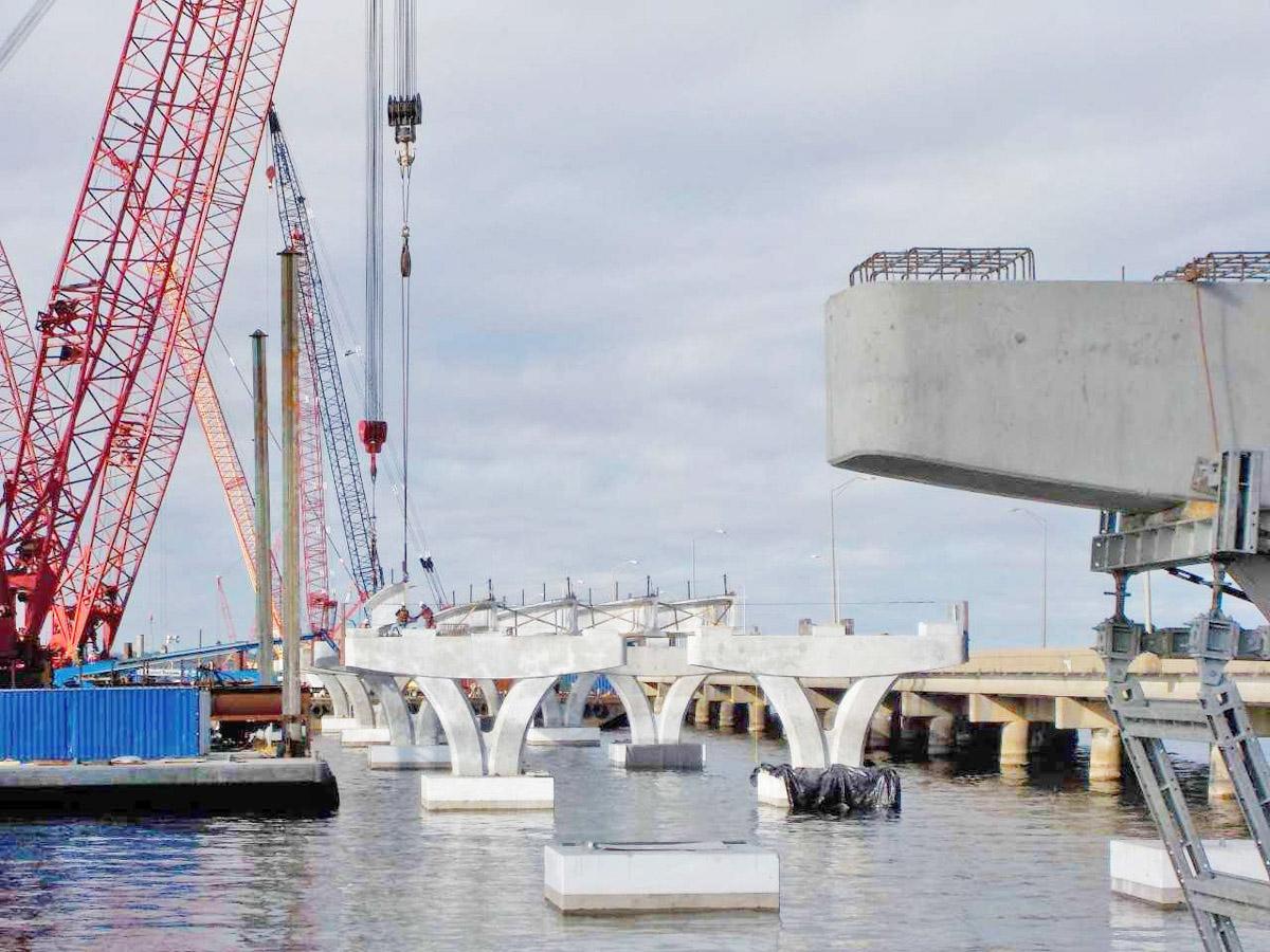 Have You Seen The Progress On The Pensacola Bay Bridge