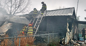 Flomaton Fire Destroys One Home, Damages Another