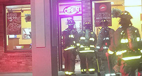 Firefighters Respond To Cantonment Pizza Hut