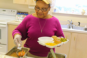 Dining Sites Provide A Good Meal, And A Good Smile For Seniors