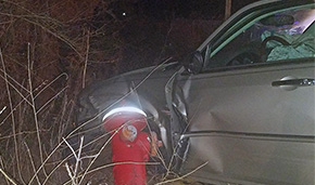 Driver Strikes Fire Hydrant In Crash That Injures Three
