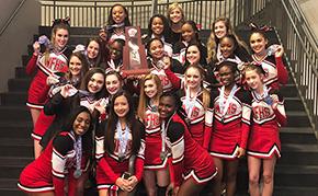 West Florida Jaguar Cheerleaders Finish Second In State Finals