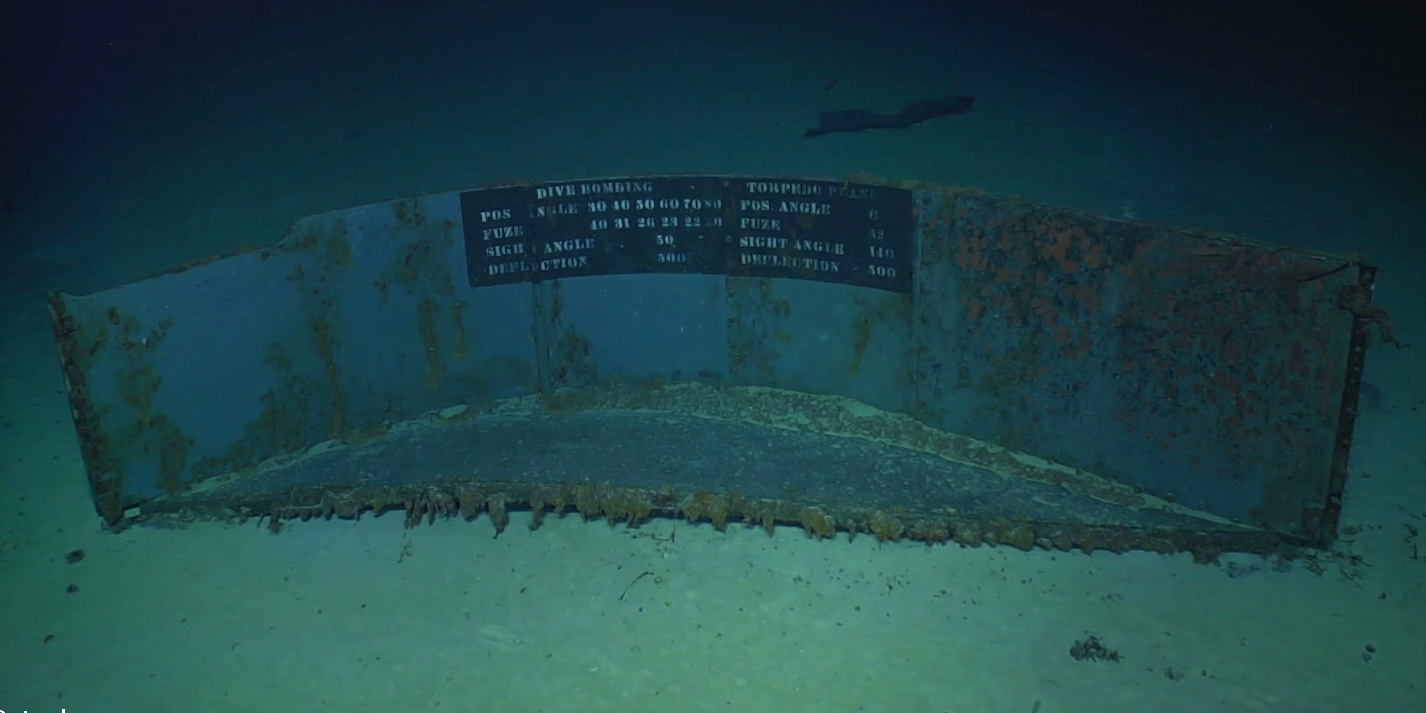 wreck of uss lexington found after 76 years  ship was
