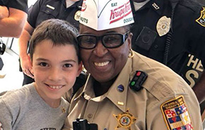 Bratt's Donut Boy Serves Up Sweet Thanks To Area Law Enforcement Officers