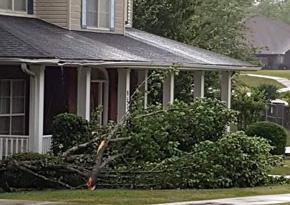 Minor Damage In Gonzalez From Tornado Warned Storm