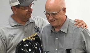 Jay Vol. Fire Honors Longtime Firefighter Earl Greene As He Retires