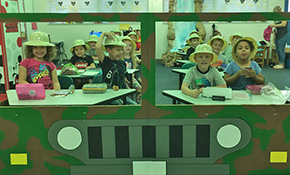 Making Learning Fun: Welcome To Fleming's Jurassic World At Lipscomb Elementary