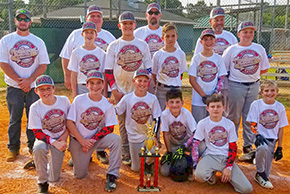 NWE 12U Team Places Second In Myrtle Grove Tournament