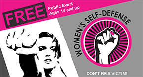 Free Self Defense Class In Century This Saturday
