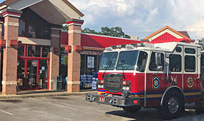 Firefighters Respond To Smoke In Store's Beer Cooler