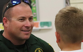 Deputy Forms Special Bond With Students, Completes SRO Program