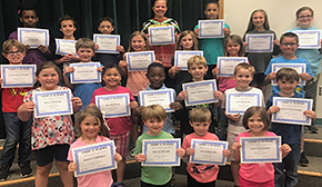 Bratt Elementary Names Students Of The Month