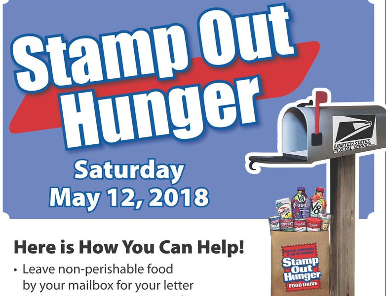 Fill a bag, help stamp out hunger
